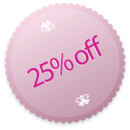 Special OFFER for October – 25% off any full price Veni Infantino